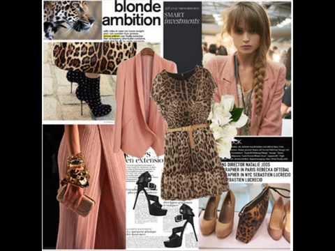 Аксессуары под леопардовое платье