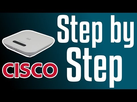 Cisco Access Point - Initial IP Configuration (WAP321)