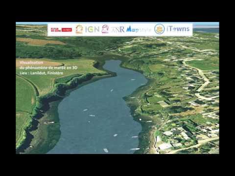 [Futur en Seine 2016] Geovisualisation de la zone cotière