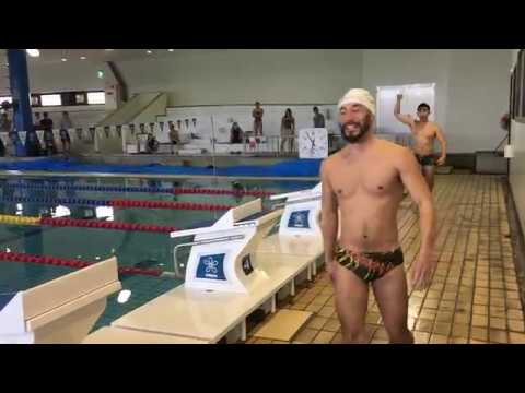 Most painful race 200FLY long course at Kinki University pool