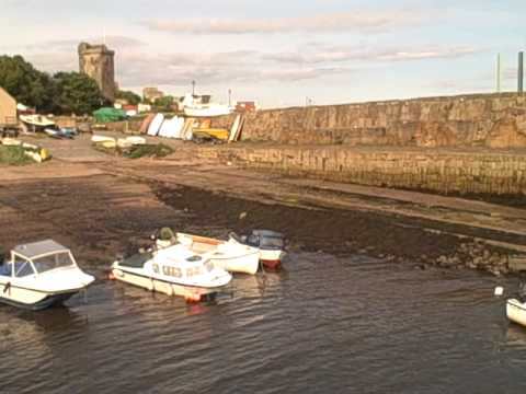 Dysart Fife Scotland August
