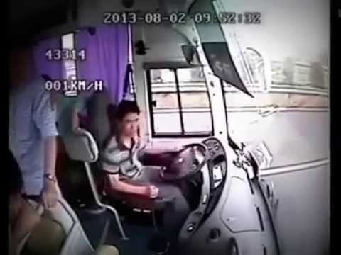 Bus Crashes...Kills dozens on Video.  Wear Your Seatbelt!  Please Share...