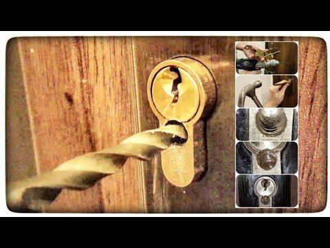 Bagaimana Mengebor Insert Kunci Di Pintu? Pembukaan Pintu Darurat Tanpa Kunci