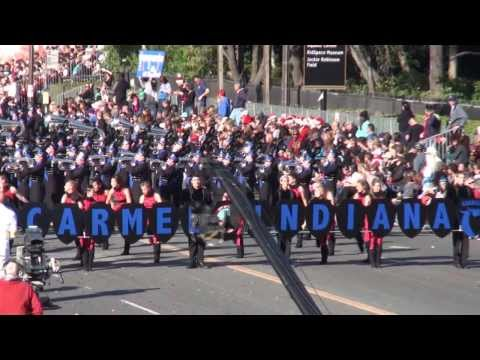 Carmel HS Marching Greyhounds  2014 Pasadena Rose Parade