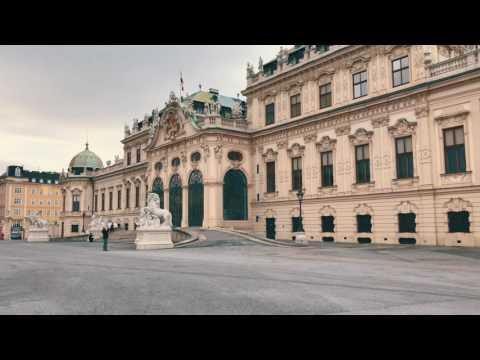 a Trip to Belvedere Castle Vienna Austria  4K