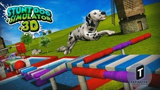 Stunt Dog Simulator 3D - Android Gameplay HD