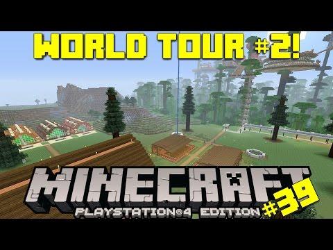 Minecraft PS4 Survival #39 | World Tour #2
