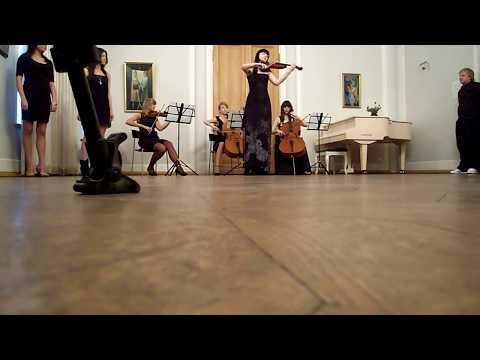 """Urban Symphony and Sandra Nurmsalu """"Rändajad"""", unplugged performance"""