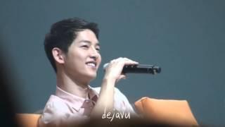 160417 송중기팬미팅 5th Fan meeting - 잘생김모음