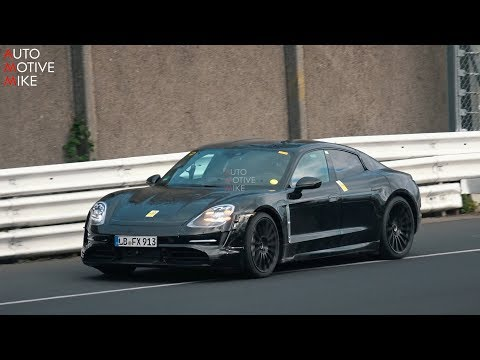Porsche Taycan Brings Its Fake Exhaust To The Nurburgring