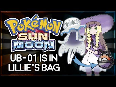 Pokémon Sun and Moon | UB-01 is in Lillie's Bag