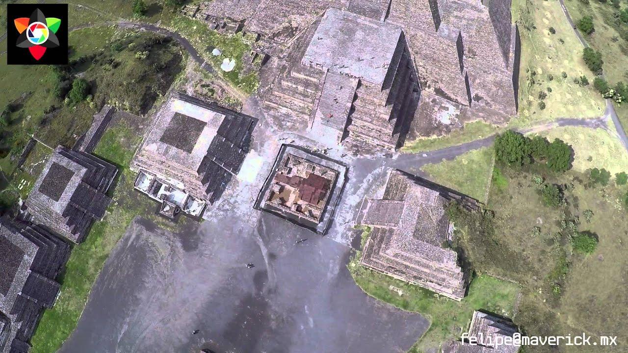 Teotihuacan sitio arqueológico. 2015. Archaeological site