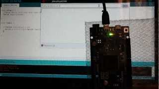 Arduino Due code example: Serial communication - Rx