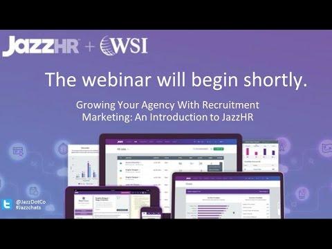 JazzHR + WSI: Grow Your Agency with Recruitment Marketing