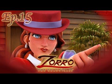 L'ORO DEI CAMPI | Le cronache di Zorro Episodio 15 |Cartoni di supereroi