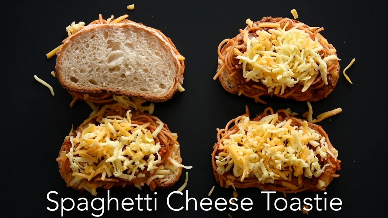 Spaghetti Cheese Toastie