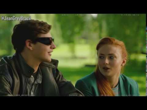 I LOVE XMEN!   Cyclops and Jean Grey  Sophie Turner and Tye Sheridan