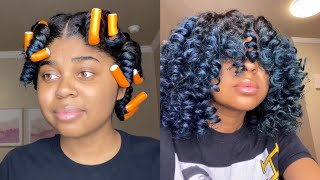 QUICK & EASY FLEXI ROD HACK 2020 | NATURAL HAIR