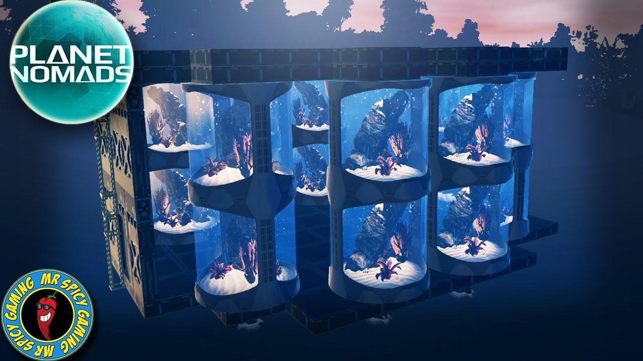 DÉMARRER LA TOUR D'EAU (POWER) - Planet Nomads Gameplay S2 Ep19 + vidéo