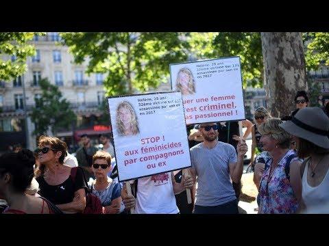 مظاهرة في باريس ضد قتل النساء  - 09:54-2019 / 7 / 7
