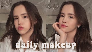 my daily makeup tutorial мой ежедневный макияж