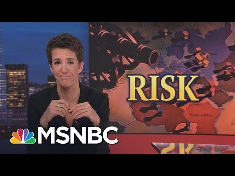 President Donald Trump's Oil Grab Policy Puts US Troops At Risk | Rachel Maddow | MSNBC