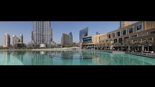 BUJI KHALIFA DUBAI FOUNTAIN afternoon show