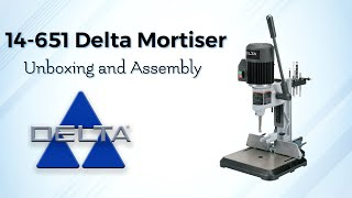 14-651 Delta Mortiser — Unboxing and Assembly