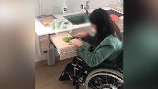유니버설디자인 주방(휠체어)