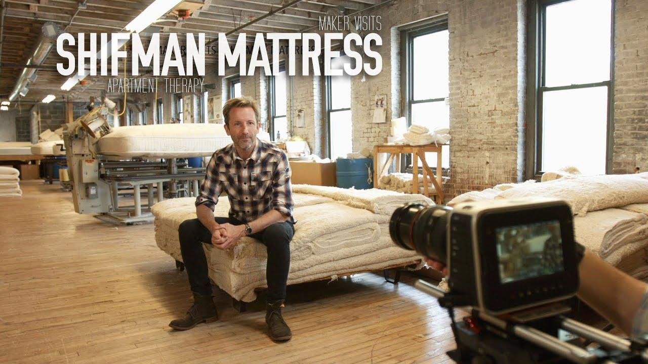 Apartment therapy maker visit shifman mattress co youtube for Apartment therapy melissa maker