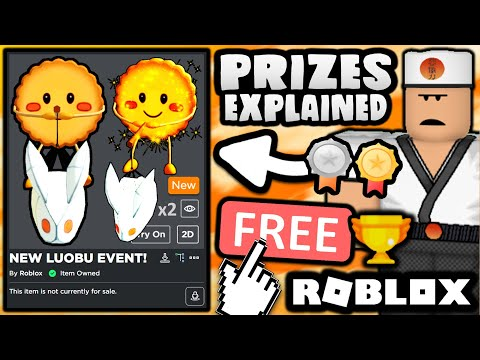 FREE ACCESSORIES! HOW TO GET NORMAL/GOLDEN Mooncake Buddy's! (ROBLOX LUOBU MOONCAKE FESTIVAL EVENT)