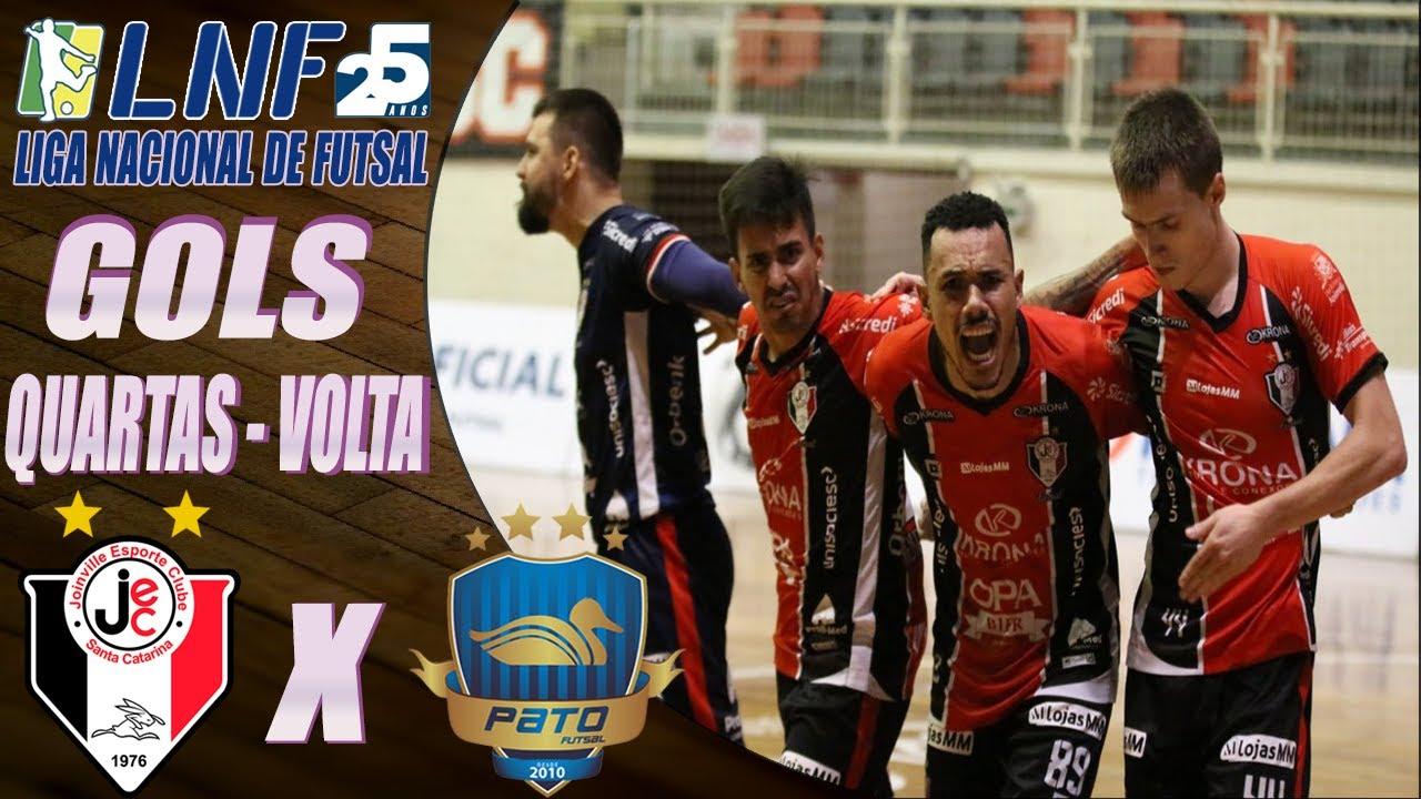 Quartas de Final - Gols Joinville X Pato - Jogo de Volta LNF 2020 (24/11/2020)