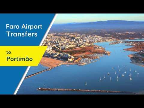 Faro Airport Transfers To Portimão - Yellowfish Transfers