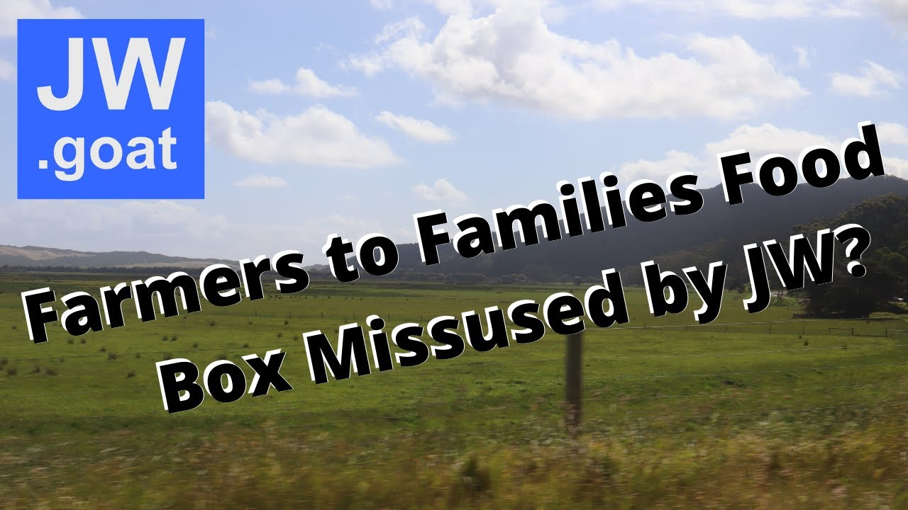 Farmers to families food box program missused?