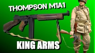Thompson M1A1 King Arms/Cybergun video review