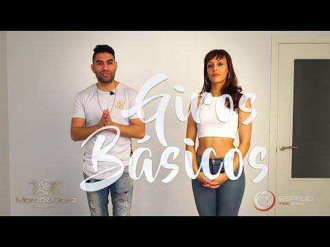 Como hacer tus GIROS BÁSICOS bailando Bachata / Marco & Sara tutoriales de bachata 03