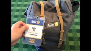 Fallout 76 mystery bag unboxing gift from Bethesda