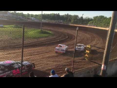 Rice Lake Speedway Street Stock heat 6/3/17