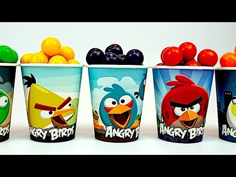 Развивающие видео для самых маленьких с Angry Birds