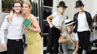 Celine Dion's Sons ★ 2018