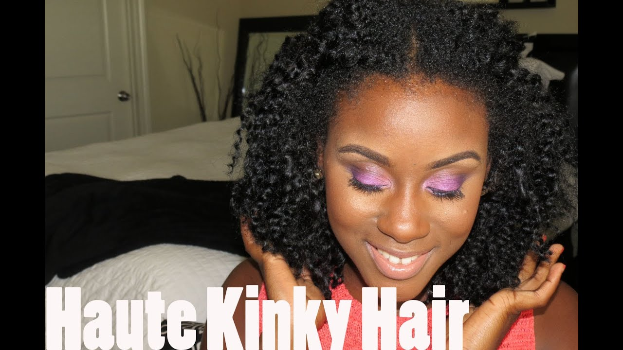 The best natural hair weave haute kinky hair youtube pmusecretfo Gallery