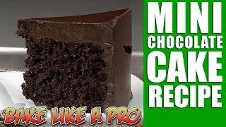 Mini Chocolate Cake Recipe   Version 2 0
