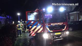 Woningbrand in Ruinerwold