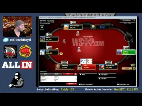 The WSOP Online Poker Grind (10/19/15)