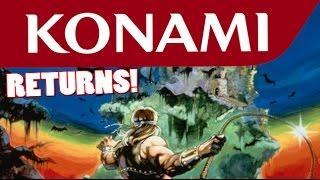 Konami Reviving it's Old Series Like Castlevania?