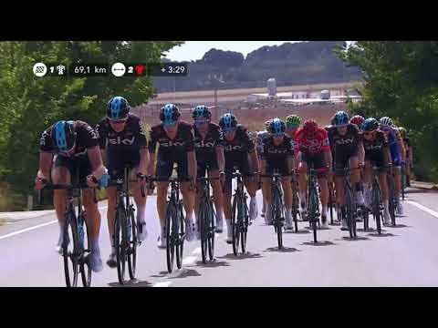 The Sky chase -  Stage 5 - La Vuelta 2017