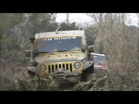 JEEP RUBICON V6 & LAND ROVER TD5 & JEEP CHEROKEE 5.9  LAND ROVER DEFENDER 90 @ EXTREME MUD