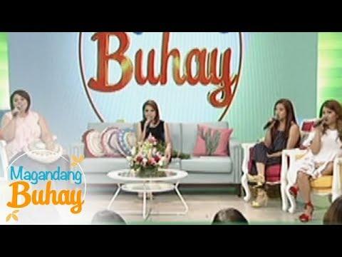 """Magandang Buhay: Momshies Karla, Jolina and Melai sing """"Maybe"""" with Jamie"""