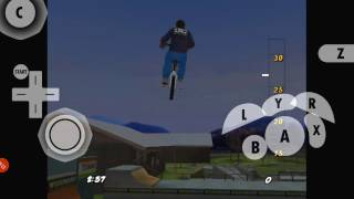 Dave Mirra Freestyle BMX 2 Glitches and Gameplay Pt 1
