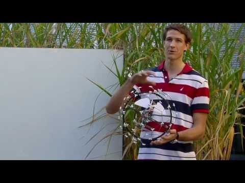 Crash-friendly drone could explore collapsed buildings